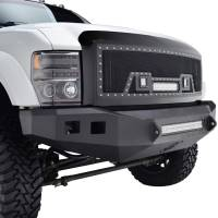 Paramount - 08-10 Ford SuperDuty Evolution Matte Black Stainless Steel Grille - Image 9