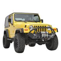 Paramount - 87-06 Jeep Wrangler TJ/YJ Stubby Front Bumper - Image 7