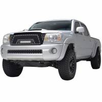 Paramount - 05-11 Toyota Tacoma Evolution Matte Black Stainless Steel Grille - Image 3