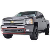Paramount - 07-13 Chevy Silverado 1500 Bumper Evolution Black Stainless Steel Overlay Grille - Image 4