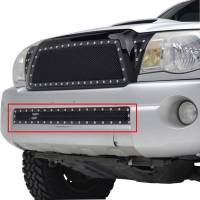 Paramount - 05-11 Toyota Tacoma Evolution Black Stainless Steel Bumper Overlay Grille - Image 3