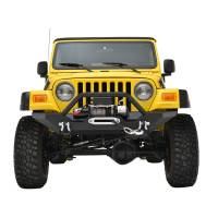 Paramount - 87-06 Jeep Wrangler TJ/YJ Mid-Width Front Bumper - Image 1