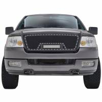 Paramount - 04-08 Ford F-150 Evolution Matte Black Stainless Steel Grille - Image 1
