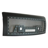 Paramount - 09-14 Ford F-150 Evolution Matte Black Stainless Steel Grille - Image 6