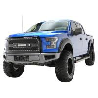 Paramount - 15-17 Ford F-150 Evolution Matte Black Stainless Steel Grille - Image 5