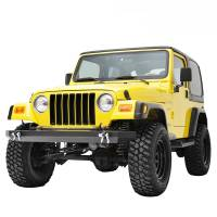Paramount - 87-06 Jeep Wrangler TJ/YJ Full-Width Classic Front Bumper - Image 4