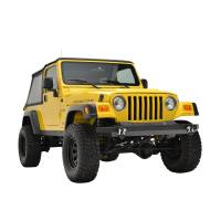 Paramount - 87-06 Jeep Wrangler TJ/YJ Full-Width Classic Front Bumper - Image 7
