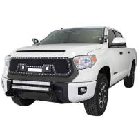 Paramount - 14-19 Toyota Tundra Evolution Matte Black Stainless Steel Wire Mesh Grille - Image 3