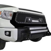 Paramount - 14-19 Toyota Tundra Evolution Matte Black Stainless Steel Wire Mesh Grille - Image 8