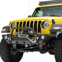 Paramount - 18-21 Jeep Wrangler JL/JT Mid-Width Front Bumper with OE Fog Light Provision - Image 4