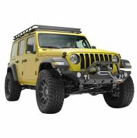 Paramount - 18-21 Jeep Wrangler JL/JT Mid-Width Front Bumper with OE Fog Light Provision - Image 8