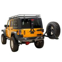 Paramount - 07-18 Jeep Wrangler JK Full-Width Rear Bumper with SureGrip Tire Carrier - Image 7