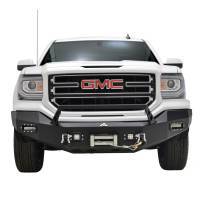 Paramount - 16-18 GMC Sierra 1500 LED Front Winch Bumper - Image 1