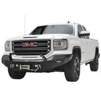 Paramount - 16-18 GMC Sierra 1500 LED Front Winch Bumper - Image 2