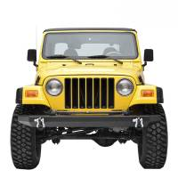 Paramount - 87-06 Jeep Wrangler TJ/YJ Full-Width Classic Front Bumper - Image 1