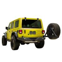 Paramount - 18-21 Jeep Wrangler JL Full-Width Rear Bumper with SureGrip Tire Carrier - Image 8