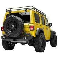 Paramount - 18-21 Jeep Wrangler JL Body Width Rear Bumper with SureGrip Tire Carrier - Image 5