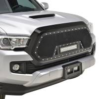 Paramount - 16-19 Toyota Tacoma Evolution Matte Black Stainless Steel Grille - Image 8