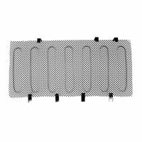 Paramount - 07-18 Jeep Wrangler JK Black Stainless Steel Wire Mesh Grille Insert - Image 2