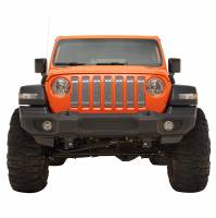 Paramount - 18-21 Jeep Wrangler JL 7PC Chrome Overlay Stainless Steel Wire Mesh Grille - Image 1