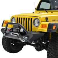 Paramount - 87-06 Jeep Wrangler TJ/YJ Mid-Width Front Bumper - Image 3