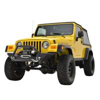 Paramount - 87-06 Jeep Wrangler TJ/YJ Mid-Width Front Bumper - Image 4