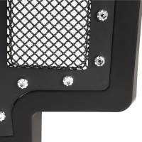 Paramount - 17-19 Ford F-250/F-350 Evolution Matte Black Stainless Steel Grille - Image 3