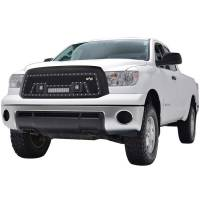 Paramount - 10-13 Toyota Tundra Evolution Matte Black Stainless Steel Grille - Image 4