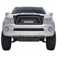 Paramount - 05-11 Toyota Tacoma Evolution Matte Black Stainless Steel Grille - Image 1