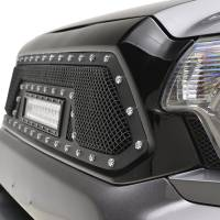 Paramount - 12-15 Toyota Tacoma Evolution Matte Black Stainless Steel Grille - Image 3
