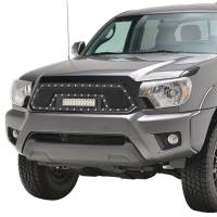 Paramount - 12-15 Toyota Tacoma Evolution Matte Black Stainless Steel Grille - Image 4