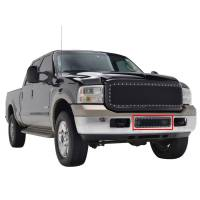 Paramount - 05-07 Ford SuperDuty/Excursion Bumper Evolution Black Stainless Steel Overlay Grille - Image 6