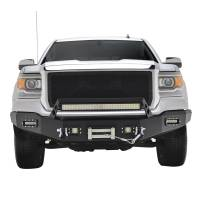 Paramount - 14-15 GMC Sierra 1500 LED Front Winch Bumper - Image 1