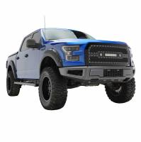 Paramount - 15-17 Ford F-150 Evolution Matte Black Stainless Steel Grille - Image 8