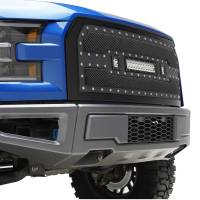 Paramount - 15-17 Ford F-150 Evolution Matte Black Stainless Steel Grille - Image 10